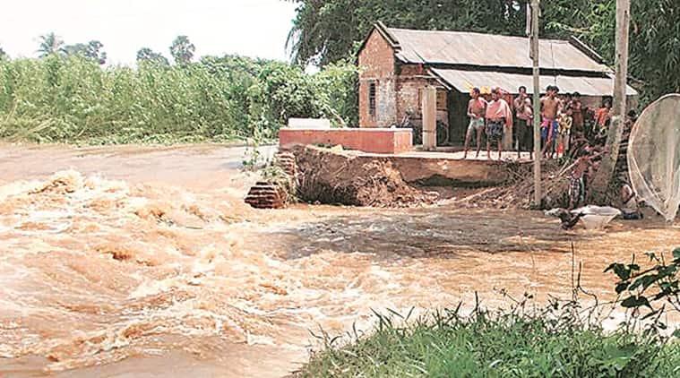 man made flood, kolkata man made flood, west bengal, mamata banerjee, dvc, legal action against dvc, indian express news, kolkata news