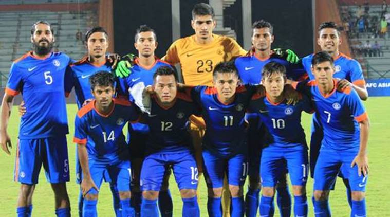 purchase cheap 09d8d 223c0 Indian football team achieves highest FIFA ranking in six ...