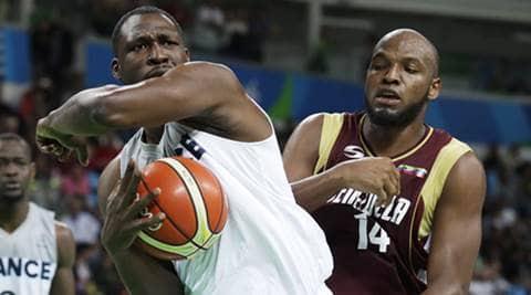 France men's basketball routs Venezuela 96-56 at Rio 2016 Olympics