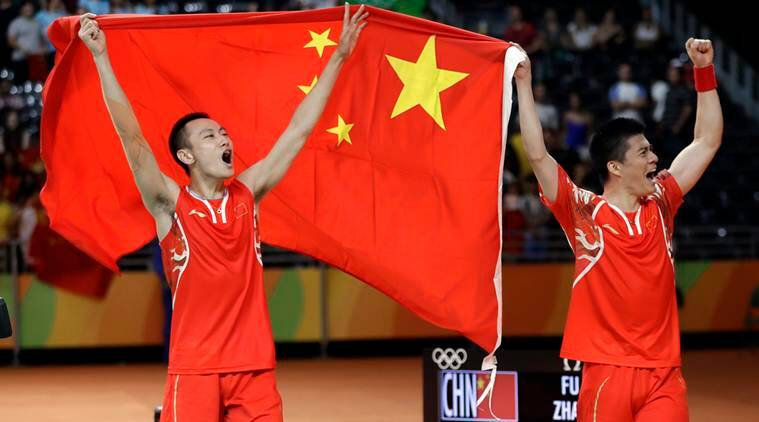 China vs Malaysia, Fu Haifeng, Zhang Nan, Goh V Shem, Tan Wee Kiong, China vs Malaysia score, mens Badminton doubles final, Rio 2016 Olympics, Rio Games, Sports news, Sports
