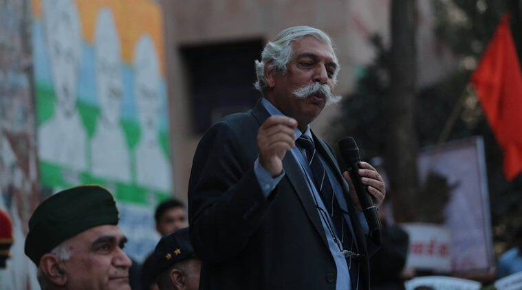 General G D Bakshi jnu event, jnu history event gd bakshi, gd bakshi prime time, army gd bakshi, indian express opinion