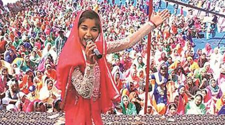 Ginni Mahi, the 17-year-old Dalit voice from Punjab, is making waves