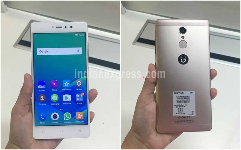 online store 479ef faf06 Gionee S6s launched in India at Rs 17,999; will be Amazon exclusive ...