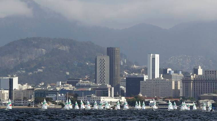 Guanabara Bay, Guanabara Bay water pollution, Guanabara Bay Brazil sailboarders, brazil sail boarders, Brazil Rio water problems, Rio 2016 Olympics, Rio Olympics, Rowing