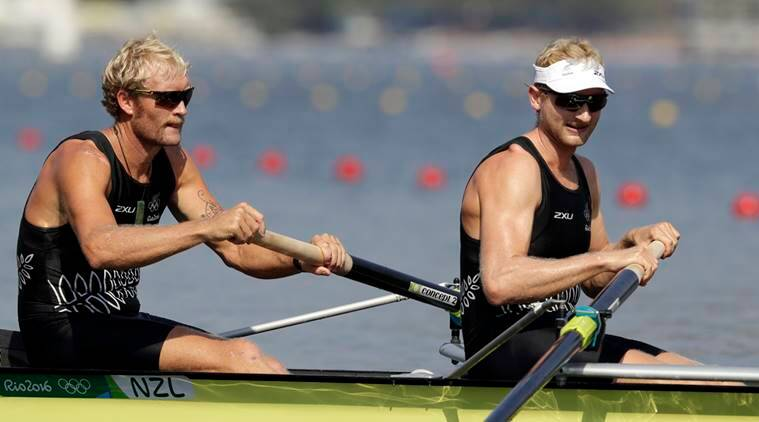 Eric Murray, Hamish Bond, Murray, Eric, Hamish, Bond, Rowing, New Zealand, Rower Eric Murray, Rowing Hamish Bond, Rio 2016 Olympics, Rio Games, Sports news, Sports
