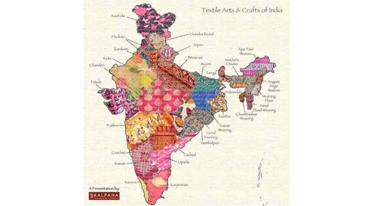 handloom kalpana textile map_759