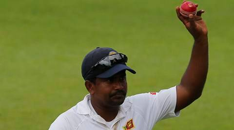 Rangana Herath becomes second Sri Lankan to claim Test hat-trick