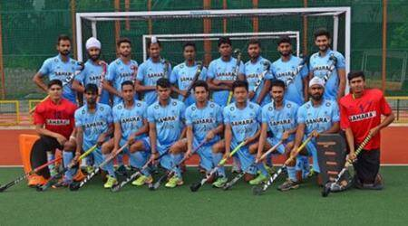 India vs England, Ind vs Eng, England vs India, Eng vs Ind, Ind 1-2 Eng, India's junior men's hockey team, Hockey India, India hockey, Hockey