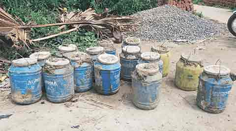 Ludhiana: 1,50,000 litres hooch seized, destroyed