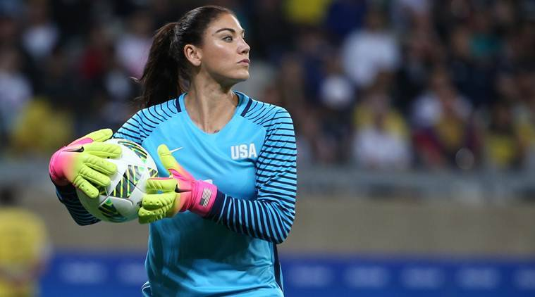 Hope Solo game schedule