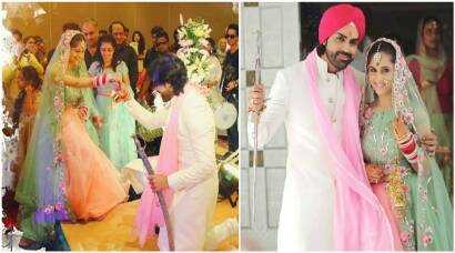 Hunar Hale, Mayank Gandhi's wedding pictures are straight from a fairytale