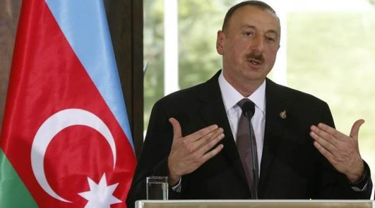 Azerbaijan president, Azerbaijan president defamation, Azerbaijan parliament, Azerbaijan, Azerbaijan law, world news, indian express news