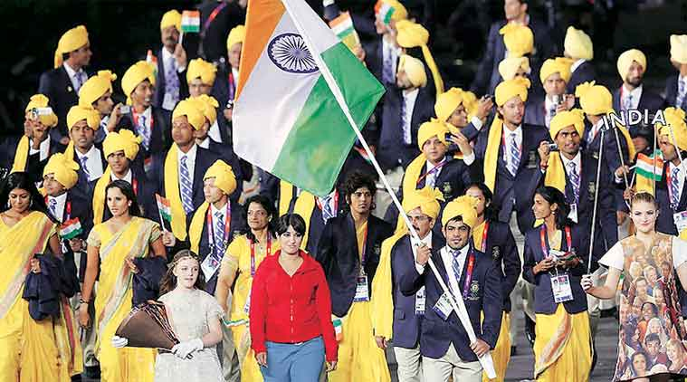 opening ceremony India flag bearer IST indian women saree olympics flag bearer, Rio 2016 Olympics, Olympics india dress, Rio Olympics 2016, Rio Olympics, Rio 2016, olympics opening ceremony india, india olympics opening ceremony, sports news