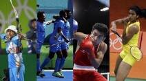 Sania Mirza, Rohan Bopanna, Saina Nehwal, PV Sindhu, India men's hockey team, Shiva Thapa, Jwala Gutta, Ashwini Ponnappa, Deepika Kumari, Bombayla, India boxing, India badminton, Indian archery, Rio 2016 Olympics, Sports