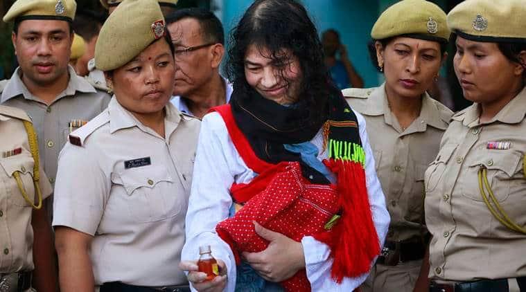 Irom Sharmila, Manipur, manipur irom sharmila, irom sharmila quit fasting, irom sharmila politics decision, afspa, manipur afspa, irom sharmila afspa, irom sharmila join politics, irom sharlima abandoned,  india news, latest news, northeast news, manipur news