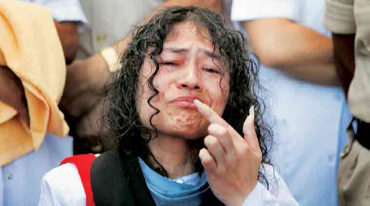 irom sharmila, irom sharmila ends fast, irom sharmila fast, manipur, sharmila breaks fast, manipur news, afspa, afspa protest, afspa fast, irom sharmila fast, irom sharmila breaks fast, irom sharmila afspa, afspa protest, afspa northeast, india news