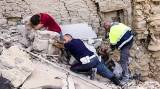 Italy earthquake death toll nears 250 as rescuers search demolished towns