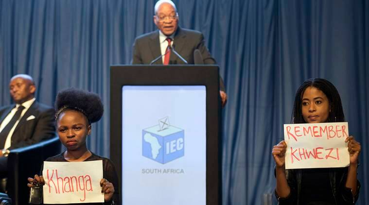 Jacob Zuma, Jacob Zuma rape charges, Jacob Zuma rape acquital, protest against Jacob Zuma, Khwezi, South Africa, International news, world news,