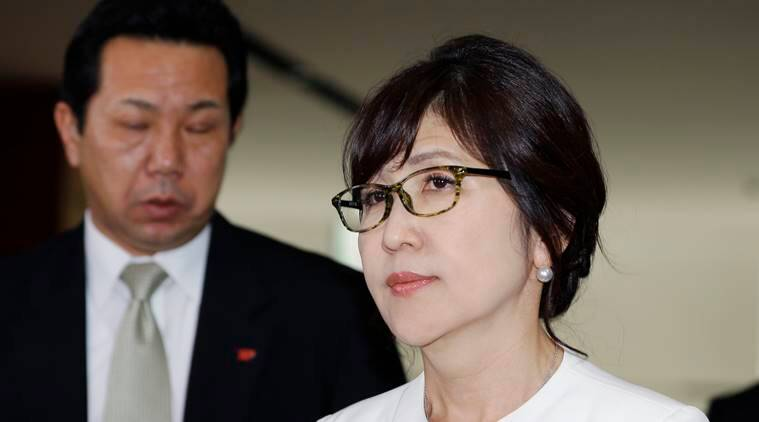 Prime Minister Shinzo Abe, Japan's defense minister, Tomomi Inada, Liberal Democratic Party,, Japan News, Japan Cabinet, Latest news, World nwes, International news