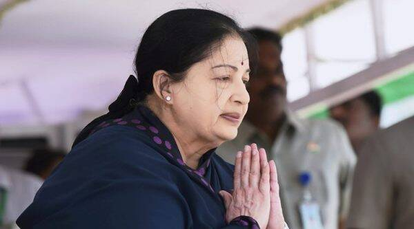 cop suspended after woman dies, jayalalitha health procession, jayalalitha health update, india news, indian express,
