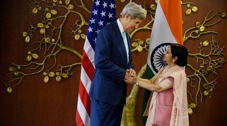 India, US, IndoUS, Indo-US, India-US, John Kerry, Sushma Swaraj, terrorism, counter-terrorism, Indo-US Strategic and Commercial Dialogue (S&CD), commercial interest, India news