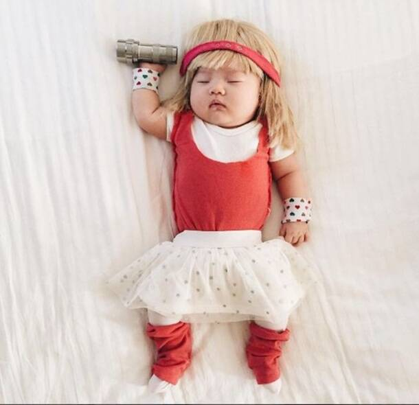 photos 20 pics of this baby dressed in different costumes that will give you diabetes the. Black Bedroom Furniture Sets. Home Design Ideas