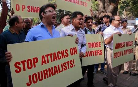 Journalists protest killing of scribes acrosscountry
