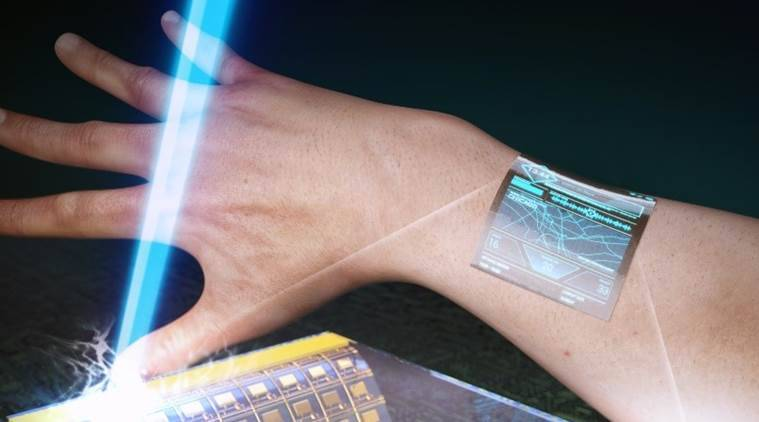 Researchers develop ultra-thin transistors for wearable display | Technology  News,The Indian Express
