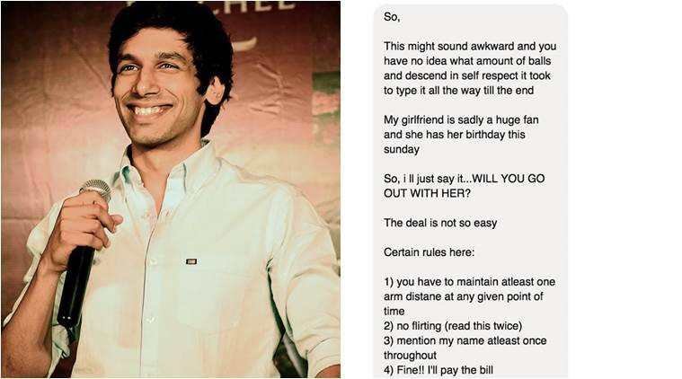 This is what Kanan Gill received in his inbox