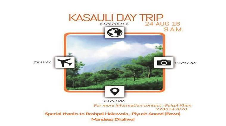 On the poster printed to promote the trip, names of past office-bearers of SOI Rashpal Hakuwala, Mandeep Dhaliwal and Piyush Anand (Bawa) are mentioned. Express