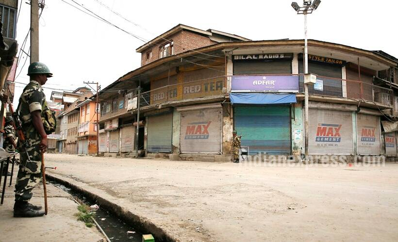 Curfew extended to more areas in Kashmir