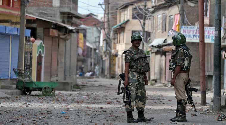 BSF deployed in Srinagar —  first since 2005