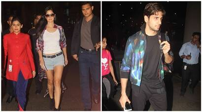 Katrina Kaif, Sidharth Malhotra and Dream Team are back in India, see pics