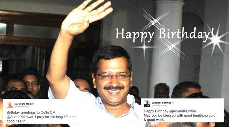 Delhi Chief Minister Arvind Kejriwal turns 47 today