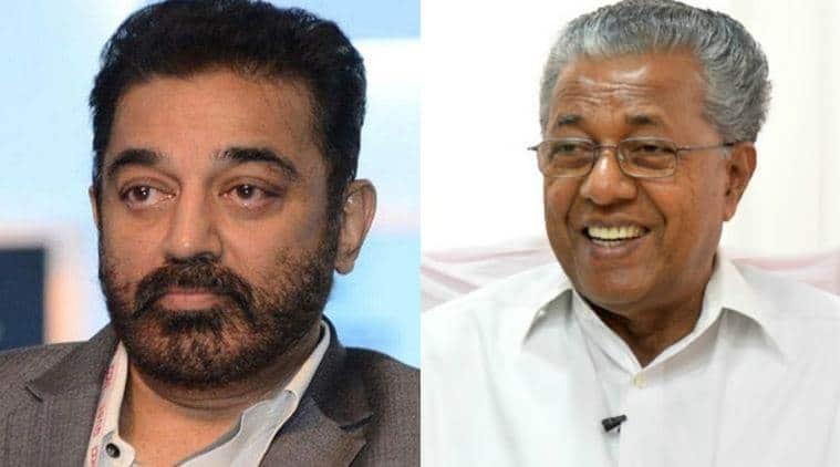 kamal haasan, pinarayi vijayan,Kamal Haasan hindu terror, Kamal Haasan shot dead,Kamal Haasan politics,