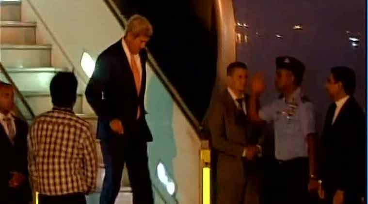 john kerry, delhi rain, rain in delhi, rain, kerry, delhi traffic jam, traffic jam, john kerry news, delhi news, us secretary of state