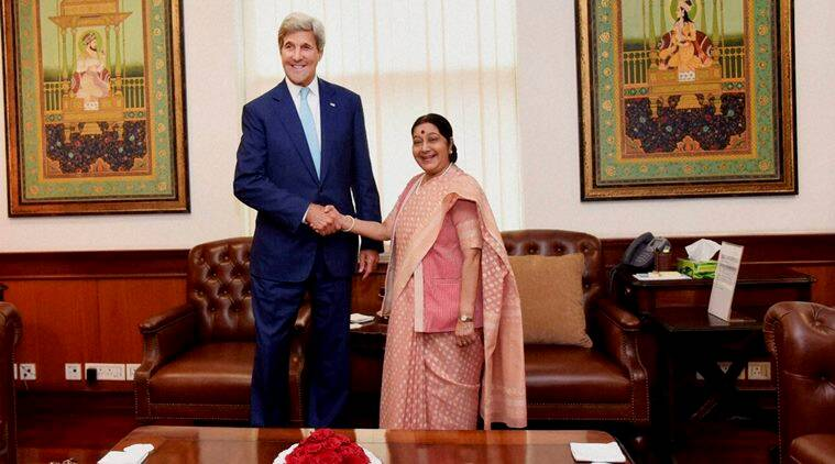 John Kerry cracks joke on Delhi rains
