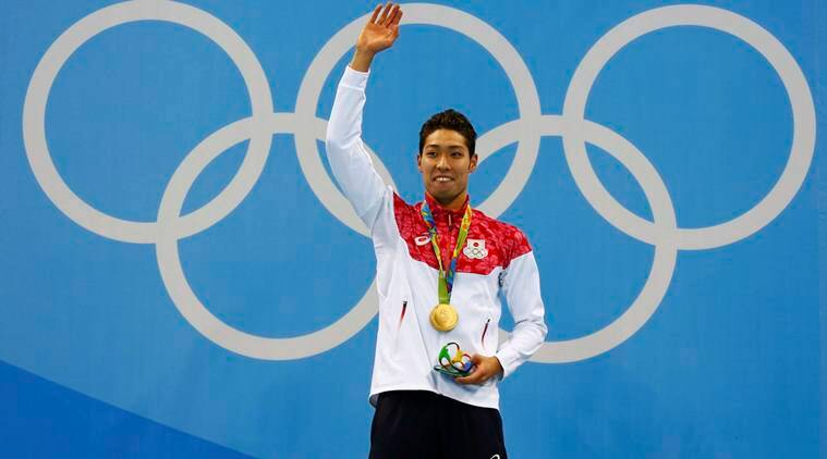 Rio 2016 Olympics: Japan's Hagino wins first pool gold