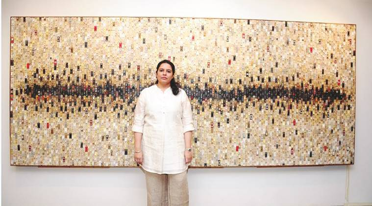 Krupa Makhija, artist Krupa Makhija, Krupa Makhija exhibition, Krupa Makhija art work, art exhibition, latest news, lifestyle