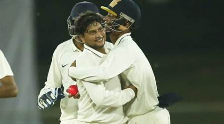 duleep trophy, duleep trophy score, india cricket, cricket india, pink ball, pink ball cricket, kuldeep yadav, kuldeep yadav cricket, india red vs india green, cricket news, cricket