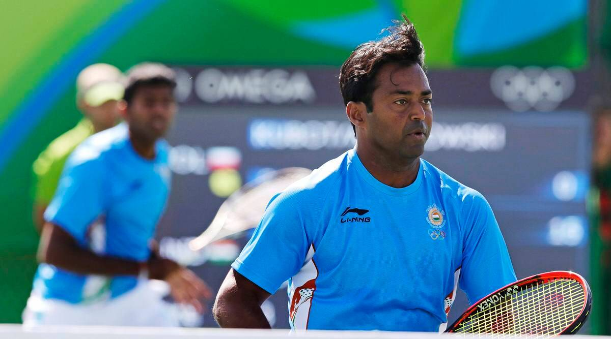 Legend of the fall: Leander Paes-Rohan Bopanna crash out on Day 1 | Sports News,The Indian Express