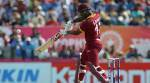 Evin Lewis dismantles Stuart Binny with five sixes