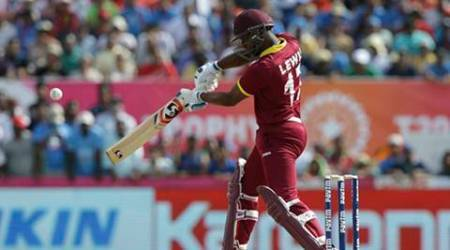 Evan Lewis, Stuart Binny, Evan Lewis Stuart Binny, Evan Lewis Binny, Evan Lewis India, Evan Lewis West Indies, West Indies vs India, Evans Lewis Binny sixes, India vs West Indies, cricket, cricket news, sports, sports news