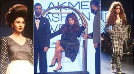 LFW W/F 2016: Jacqueline Fernandez turns showstopper for Ashish N Soni's Volomatic collection