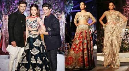 Lakme Fashion Week: Shraddha Kapoor, Sushant Singh Rajput glitter in Manish Malhotra's show