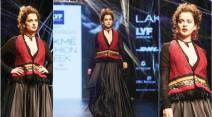 kangana ranaut, tarun tahiliani, lakme fashion week, lakme fashion week winter festive, indian fashion