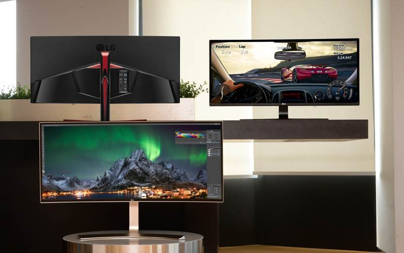 LG Unveils Trio Of Ultrawide Monitors Ahead Of IFA 2016