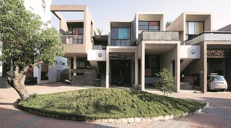 lonavala, lonavala housing complex, housing complex lonavala, design home, design your home, home decor, home interior, home architecture, indian institute of architects, indian express talk