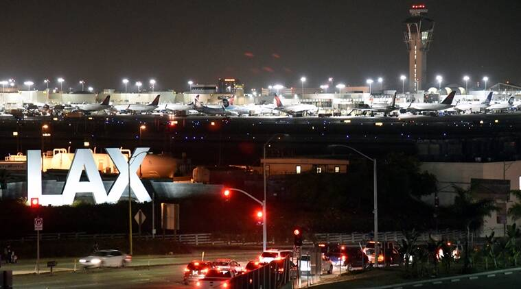 Part of Los Angeles airport briefly closed, 'Zorro' detained