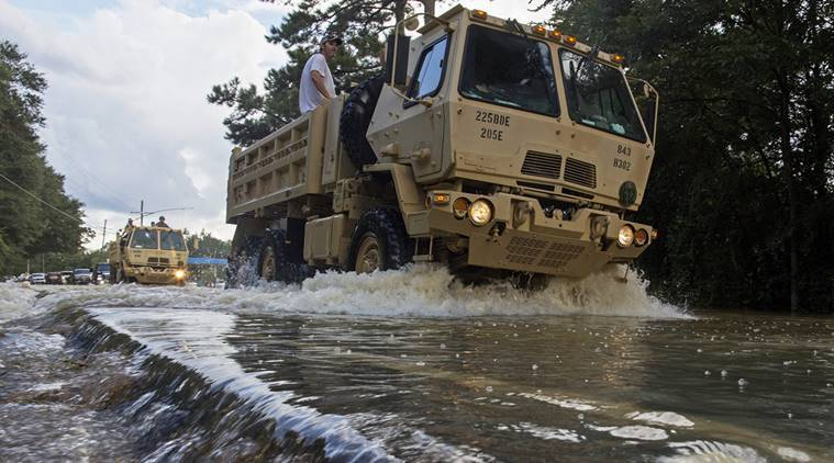Louisiana, Louisiana floods, Louisiana floods death toll, Louisiana floods rescue operations, US news, United States, Red cross, World news,